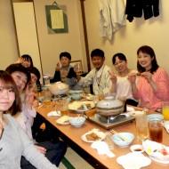 職場食事会のひととき